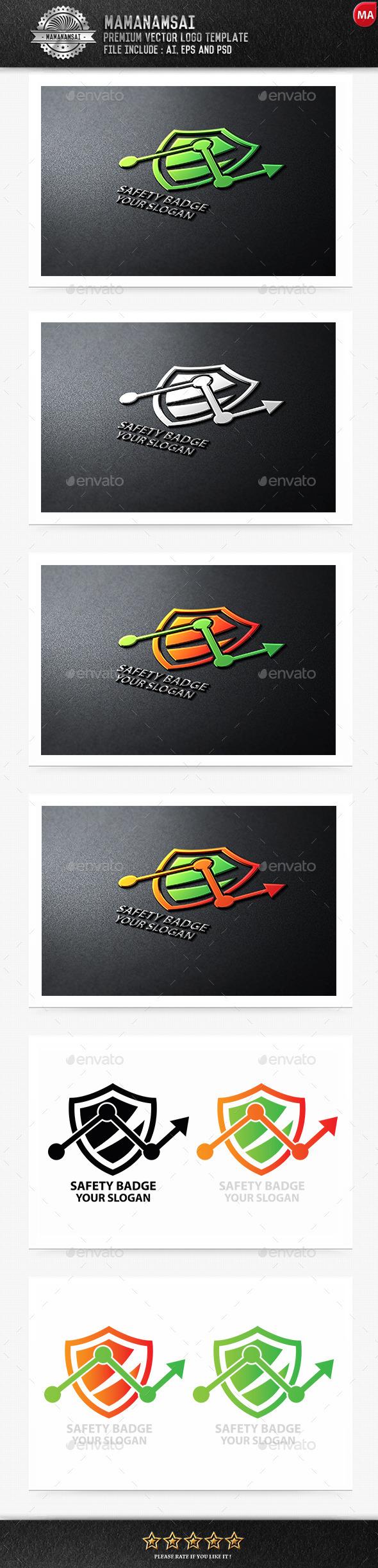 Safety Badge Logo - Logo Templates
