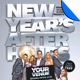 New Year's After Hours Flyer Template