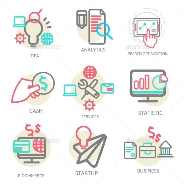 Liner Set Business Concept - Business Conceptual