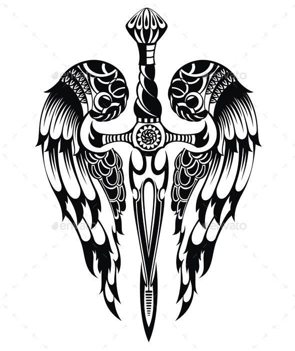 Sword - Decorative Symbols Decorative