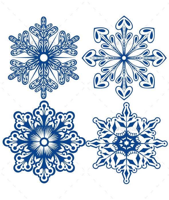 Snowflakes - Christmas Seasons/Holidays