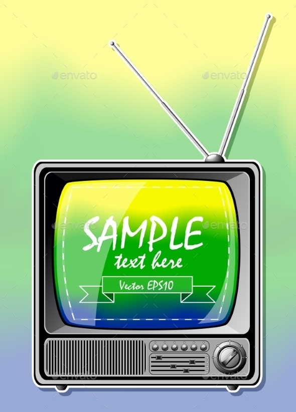 Summer Color TV - Seasons/Holidays Conceptual