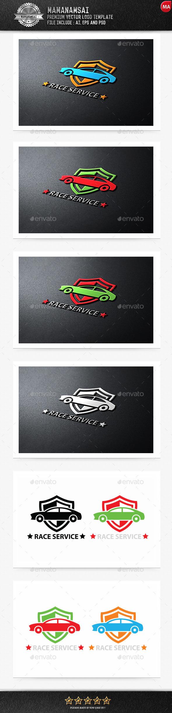 Race Service Logo - Logo Templates