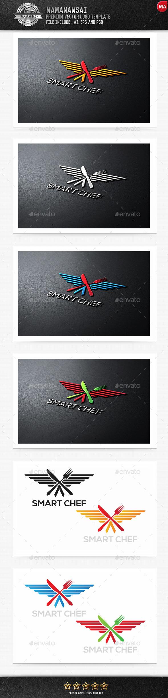 Smart Chef Logo - Logo Templates