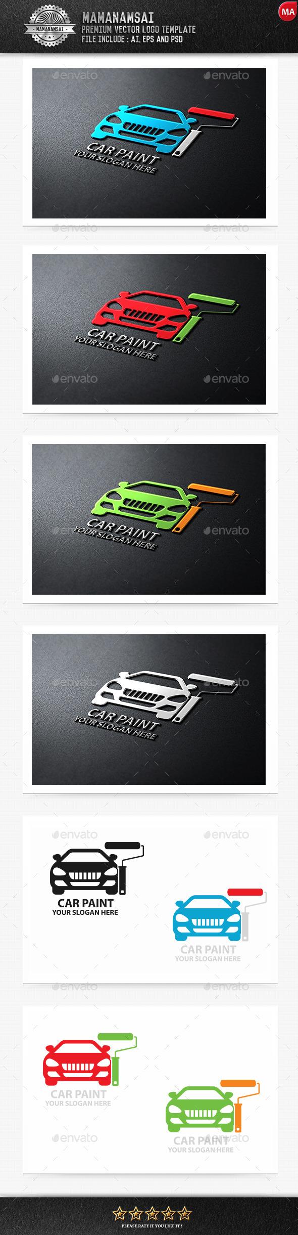 Car Paint Logo - Logo Templates