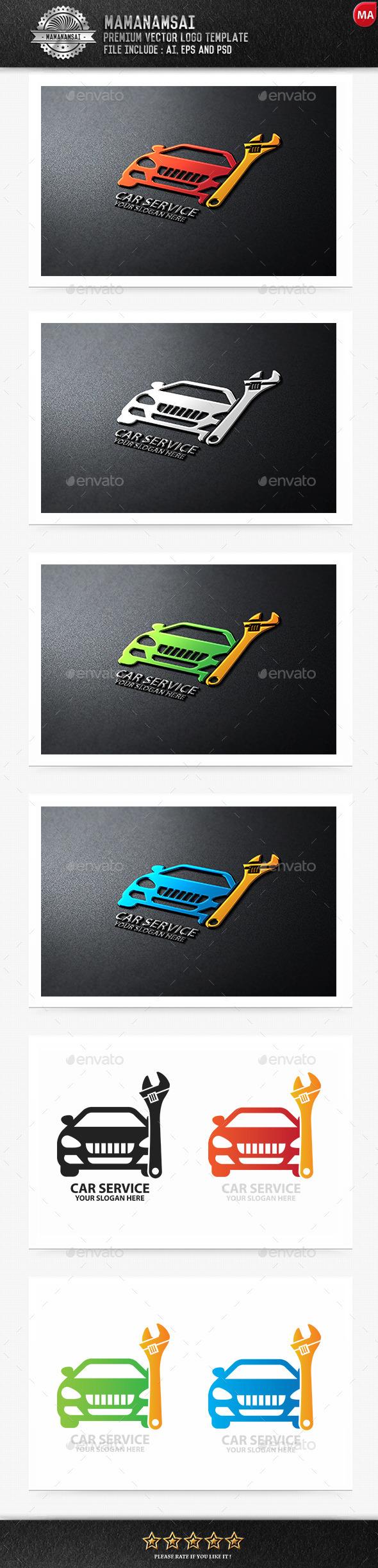 Car Service Logo - Logo Templates
