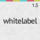 White Label - a full featured Admin Skin