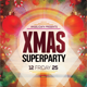 Xmas Super Party Flyer Template - GraphicRiver Item for Sale