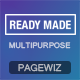 PageWiz Multi-Purpose Landing Template - Readymade - ThemeForest Item for Sale