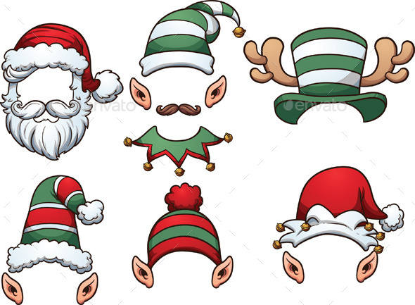 Christmas Hats - Miscellaneous Characters
