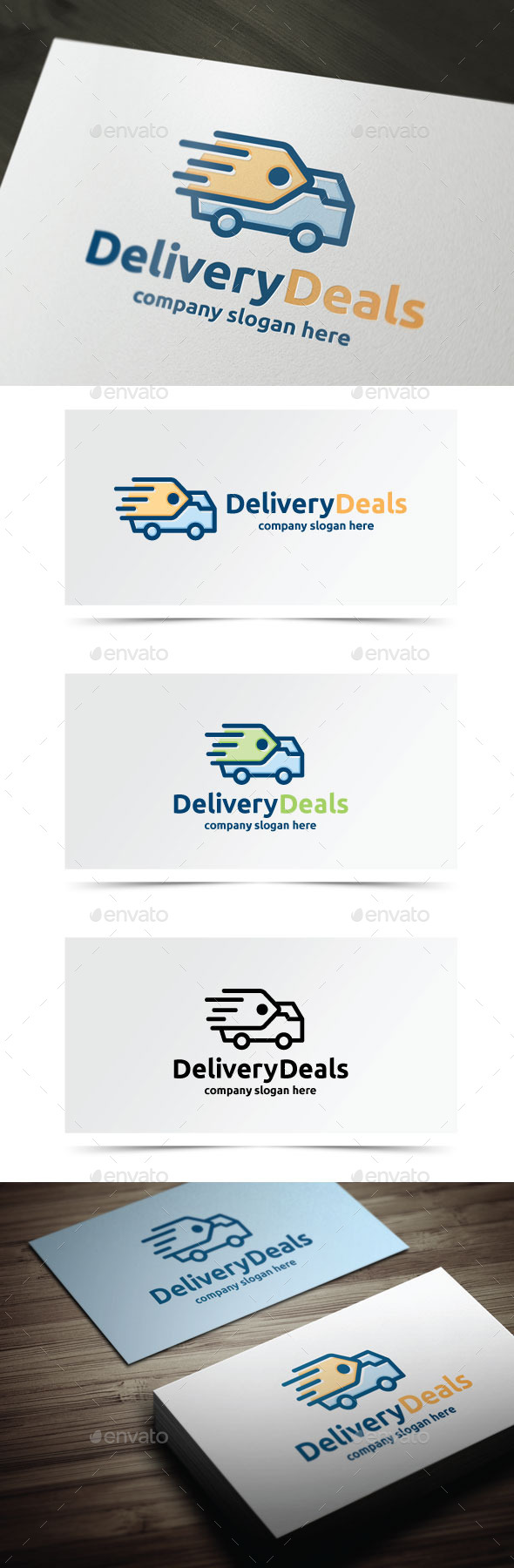 Delivery Deals - Objects Logo Templates