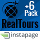 RealTour - Instapage Travel & Vacation Page Nulled