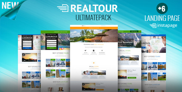 RealTour - Instapage Travel & Vacation Page - Instapage Marketing