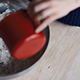 Pouring Water Into a Bowl of Flour  - VideoHive Item for Sale