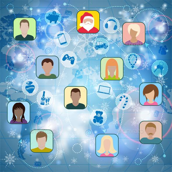Christmas Social Network - Christmas Seasons/Holidays