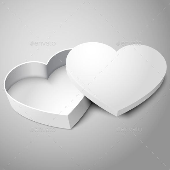 Heart Shaped Box - Man-made Objects Objects