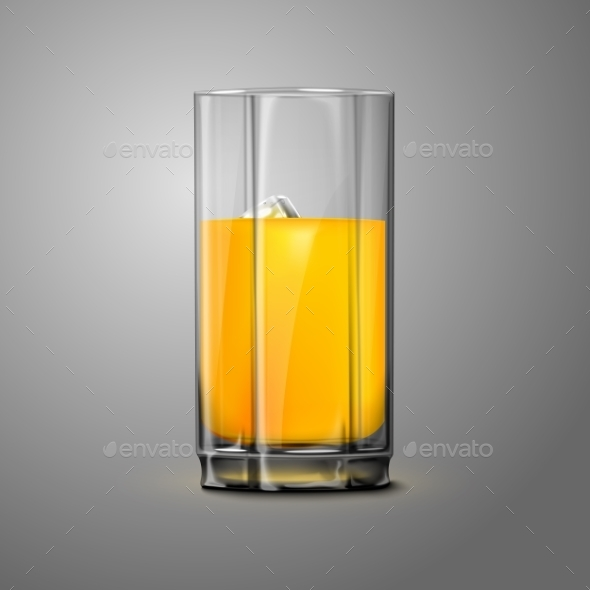 Juice Glass - Man-made Objects Objects