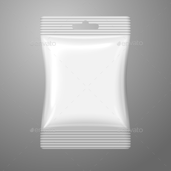 Blank Plastic Sachet - Man-made Objects Objects