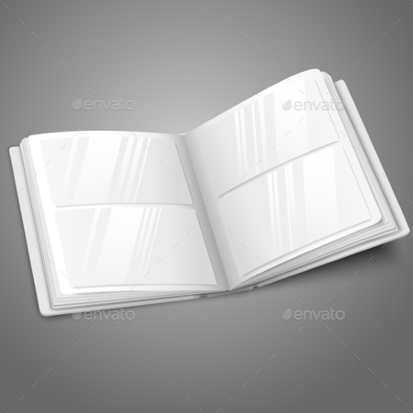 Blank Photo Album - Man-made Objects Objects