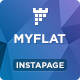 MYFLAT - Real Estate Instapage Template