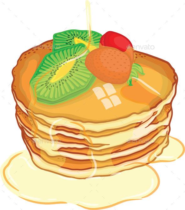 Pancake  - Food Objects