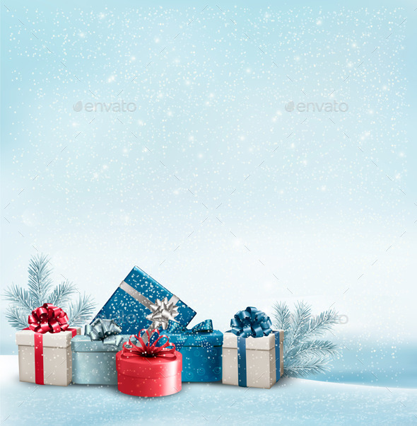 Holiday Christmas Background - Christmas Seasons/Holidays