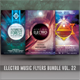 Electro Music Flyer Bundle Vol. 22  - GraphicRiver Item for Sale