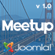 Meetup | Conference & Event Joomla Template Nulled