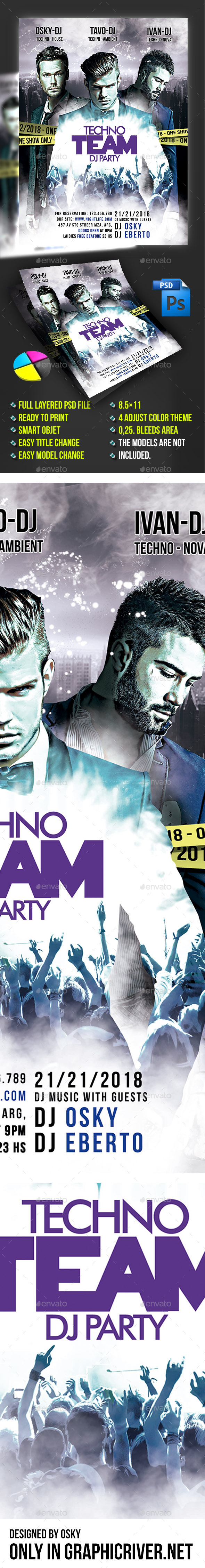 Team Dj Party - Clubs & Parties Events