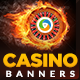 Casino Banner Design Set - GraphicRiver Item for Sale
