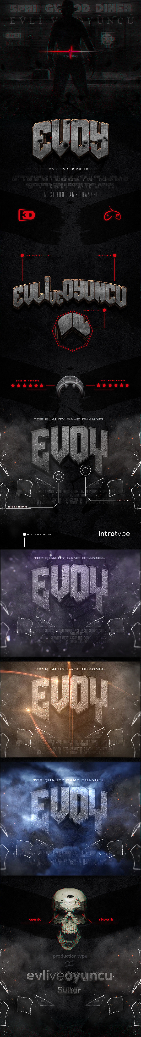 3D Cinematic Styles - Text Effects Styles