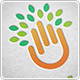 Tree Hand Logo - GraphicRiver Item for Sale
