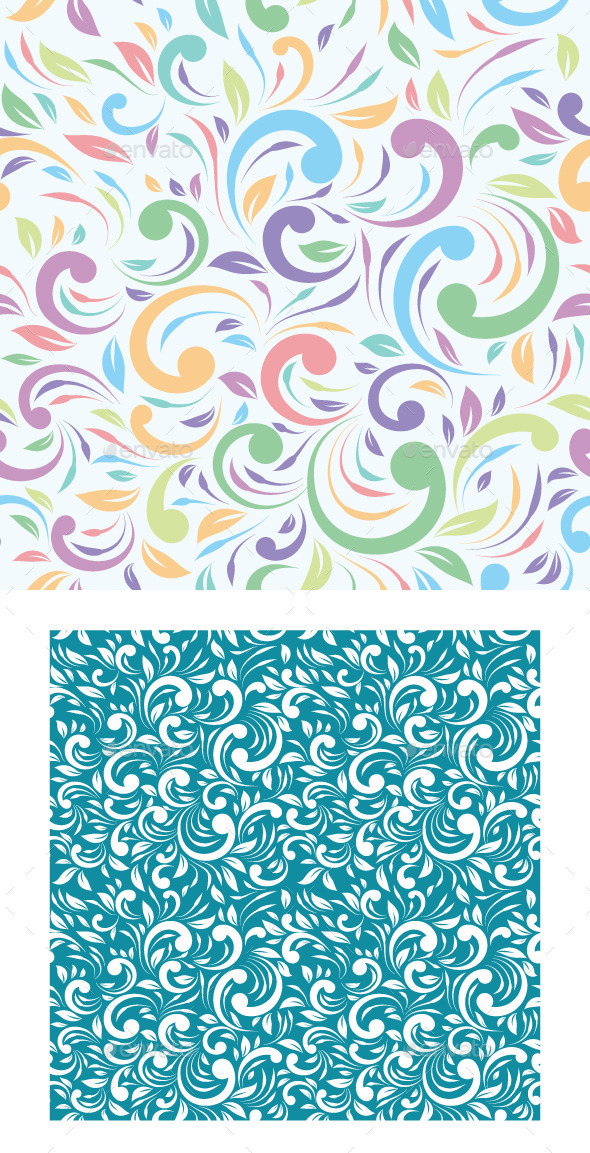 Tropical Ornament Pattern - Patterns Decorative