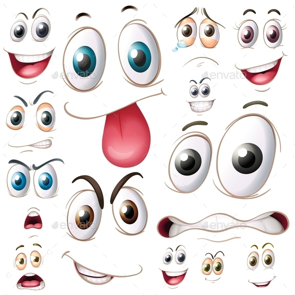 Set Of Eyes By Interactimages Graphicriver