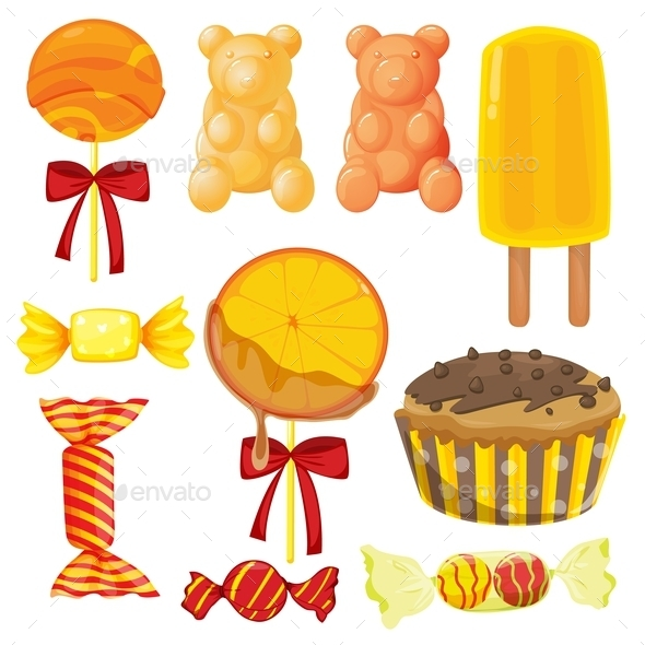Candy Sweets - Food Objects