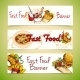 Fast Food Banners - GraphicRiver Item for Sale