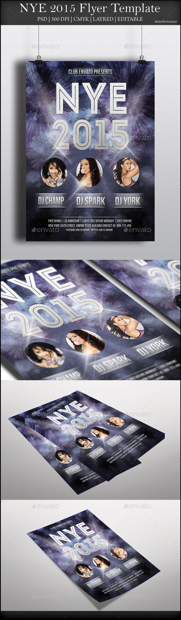 NYE 2015 Flyer - Events Flyers