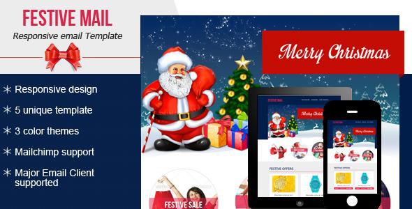 Festive4 Email Newsletter