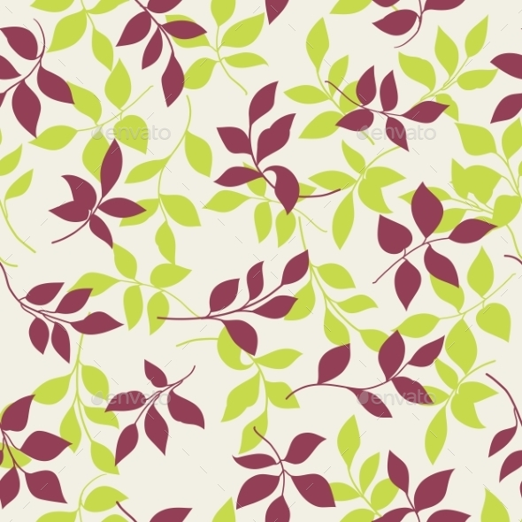 Seamless Pattern. - Flowers & Plants Nature