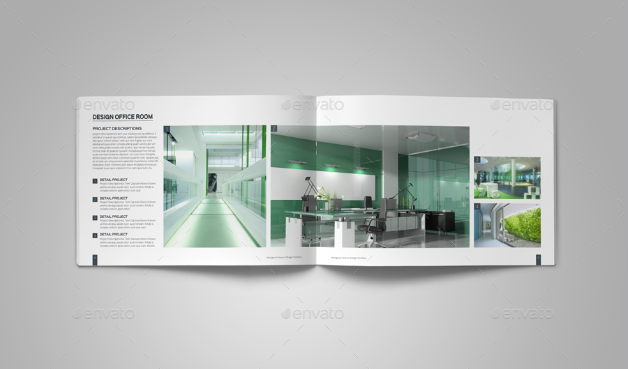 interior design portfolio template by habageud