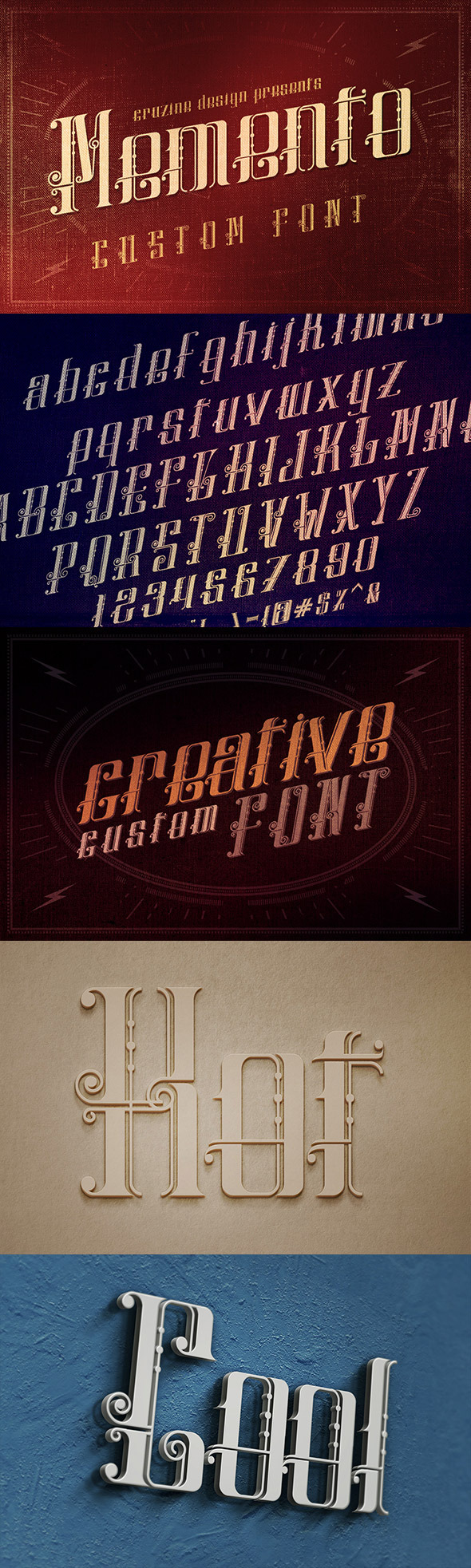 Memento Custom Font - Miscellaneous Decorative