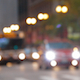 Light Traffic In The Street Of Chicago - VideoHive Item for Sale