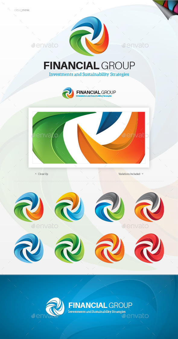 Financial Group Logo - Abstract Logo Templates