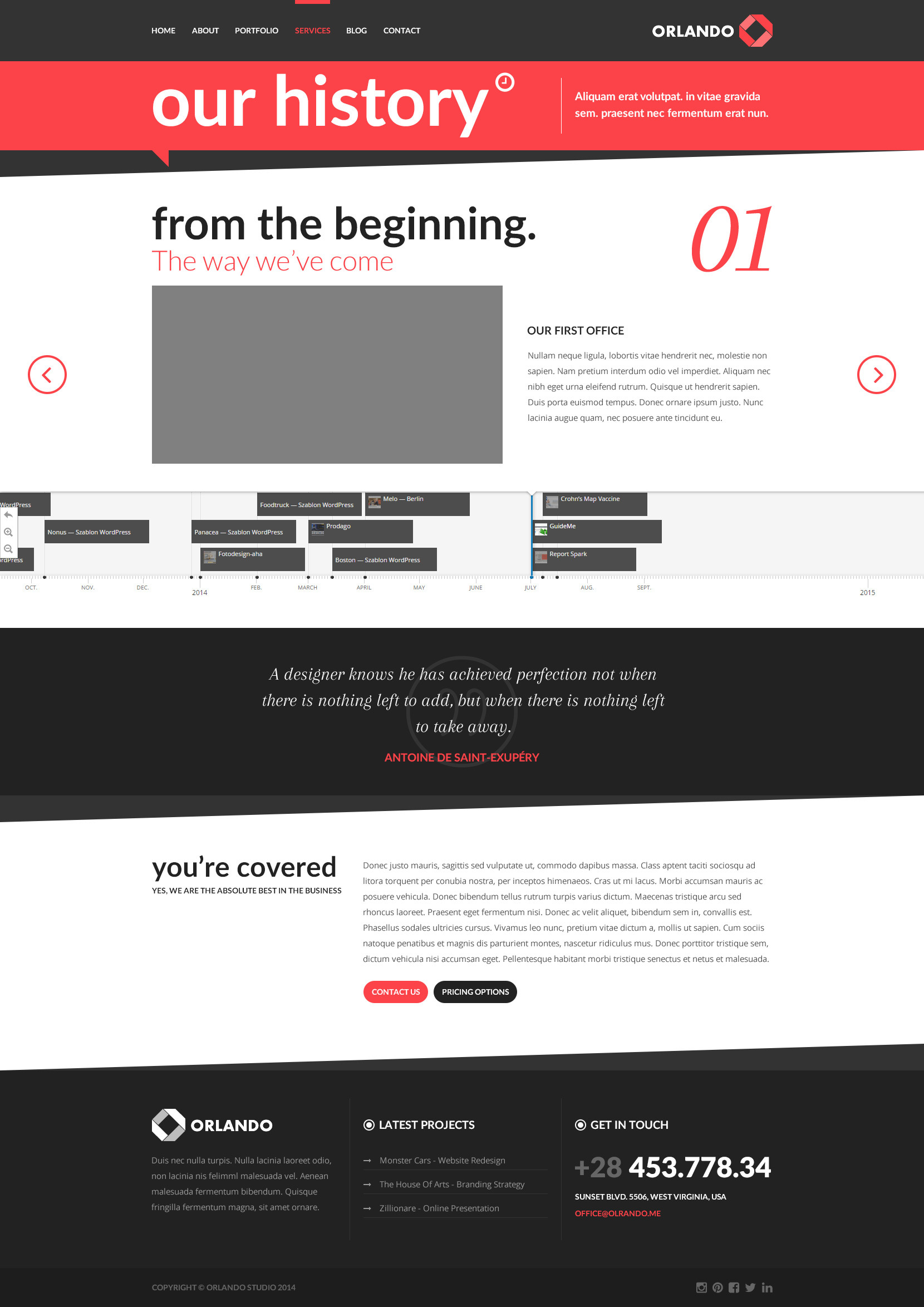 Orlando - Creative Infographics HTML Template by createit-pl ...