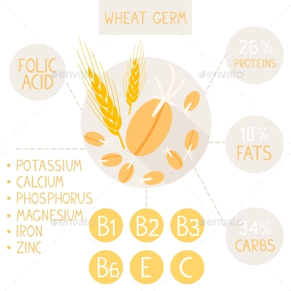 Wheat Germ - Food Objects