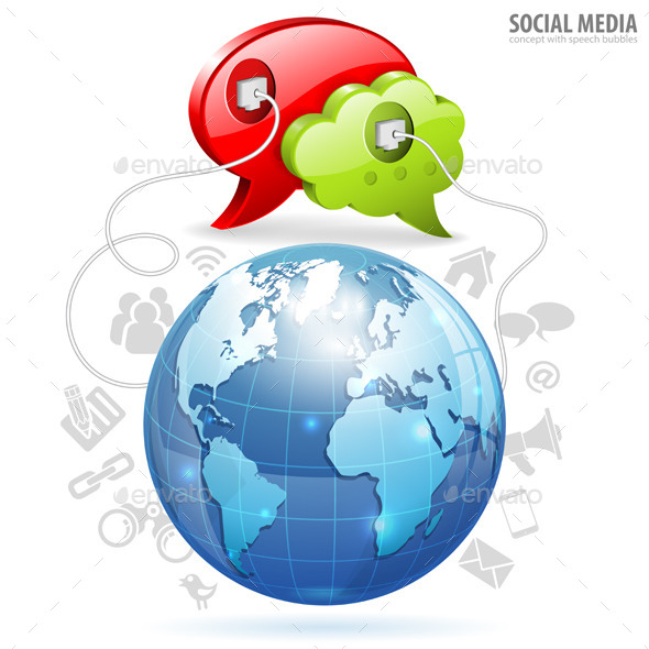 Social Media Concept - Concepts Business