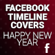 Facebook Timeline Covers - Happy New Year - GraphicRiver Item for Sale