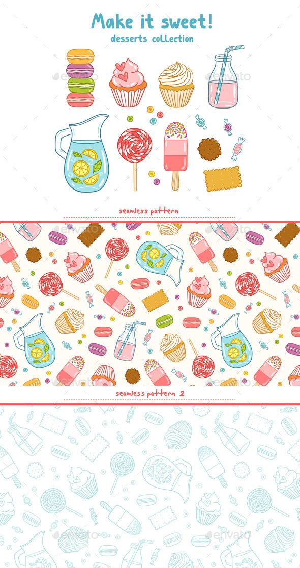 Make It Sweet - Food Objects