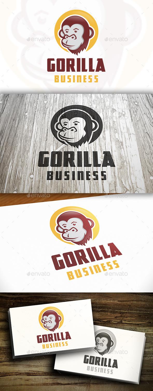 Gorilla Logo Template - Animals Logo Templates