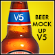 Beer Bottle Mockup V5 - GraphicRiver Item for Sale